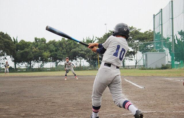 【野球】素振りの目的は3つある!意味のある素振りでバッティング上達の効果を上げる方法!